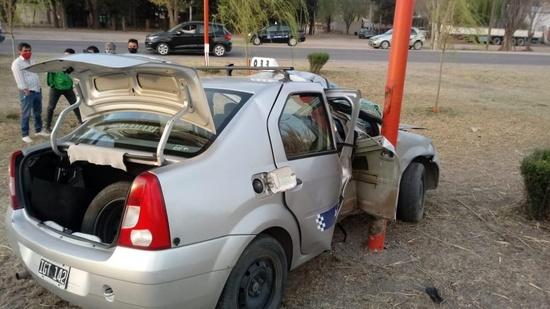 Falleció un taxista tras sufrir un accidente