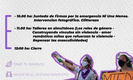 #EmergenciaNiUnaMenos: ACTIVIDADES POR EL 8M