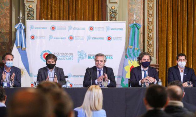 Alberto Fernández habló sobre el coronavirus en el conurbano