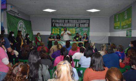 ATE: En un plenario los trabajadores de la Salud denunciaron mal trato de parte de directores