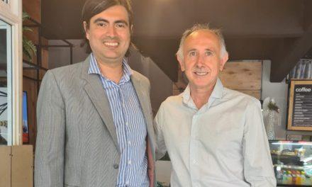 """""""Pancho"""" Guiñazú se suma al PRO de la mano de """"Charly"""" Pereira para """"rearmar la oposición"""""""