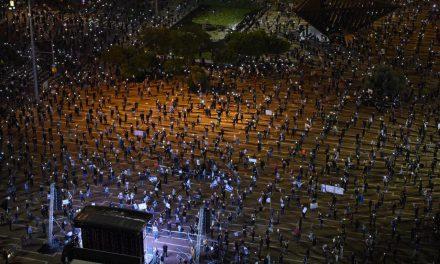 Protesta contra Netanyahu a pesar del coronavirus