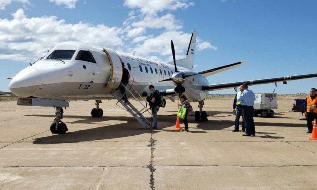 Este viernes llegará el primer vuelo de la LADE con pasajeros