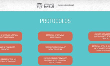 Coronavirus: Protocolos del Gobierno de la Provincia