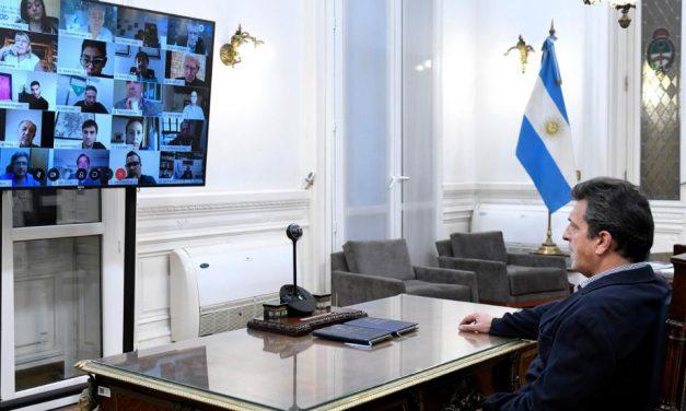 Massa convocó a los presidentes de bloque para definir la reactivación