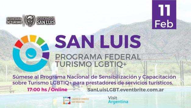 Invitan al primer taller virtual del Programa Federal de Turismo LGBTIQ+