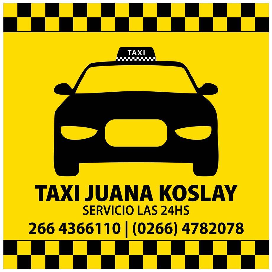 Taxi Juana Koslay
