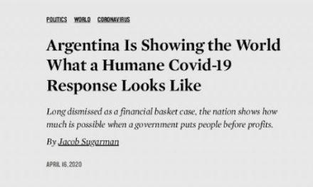 Coronavirus: elogios en la revista The Nation a las medidas de la Argentina
