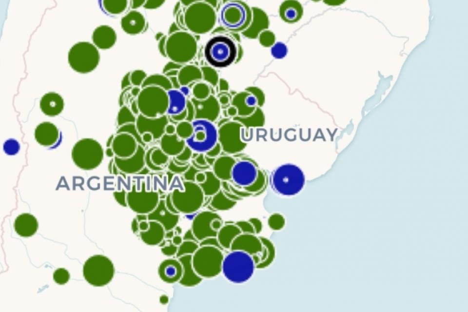 Los acreedores de Vicentin: el increíble mapa digital que los identifica uno por uno