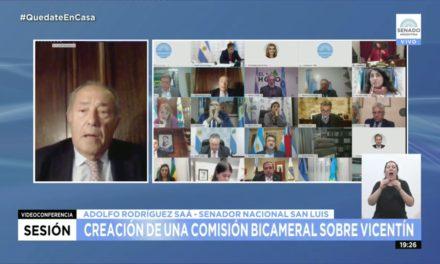 Rodríguez Saá acompaño la ley de asistencia al turismo que beneficia los reclamos del sector en San Luis