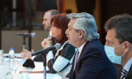Alberto Fernández: «El primer desafío es reactivar el mercado interno»