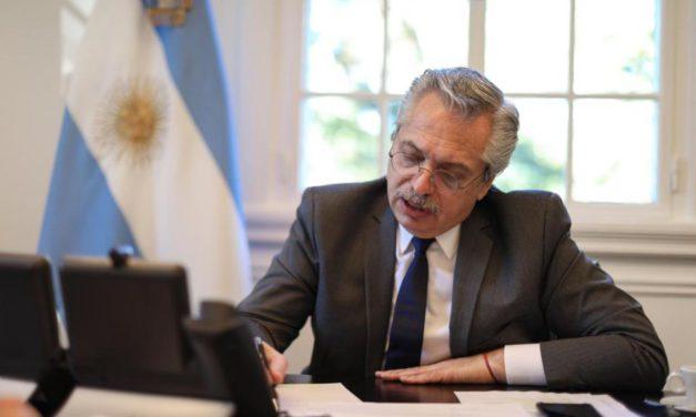 Alberto Fernández: «El deseo del Gobierno es no entrar en default»