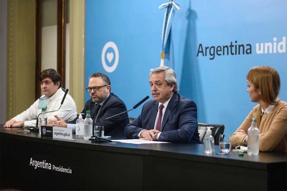 Alberto Fernández anunció la intervención y expropiación de Vicentin