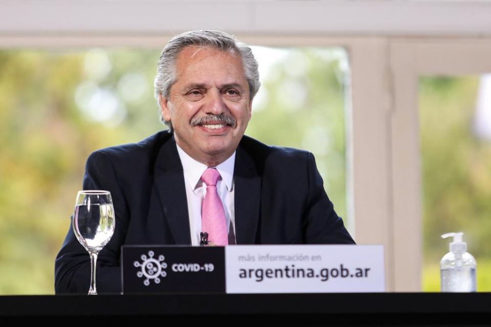 Alberto Fernández: «Llegó la hora de poner al capitalismo en su verdadera dimensión»