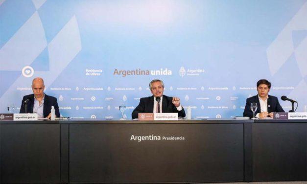 Alberto Fernández anunció la nueva fase de la cuarentena