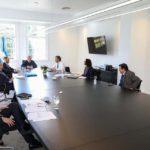Alberto Fernández se reunió con el gabinete económico