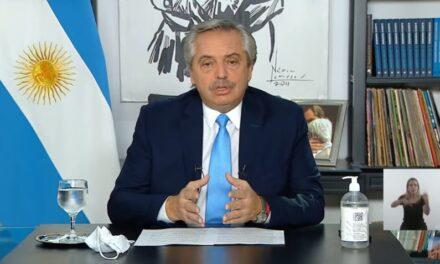 Alberto Fernández anunció nuevas restricciones que podrían llegar a Pedernera