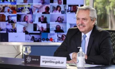 Alberto Fernández proyecta obras hídricas en San Luis