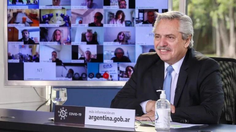 Alberto Fernández anunció un bono extra de $ 5000 para jubilados