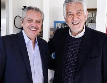 Alberto Rodríguez Saá le brindó su apoyo incondicional a Alberto Fernández
