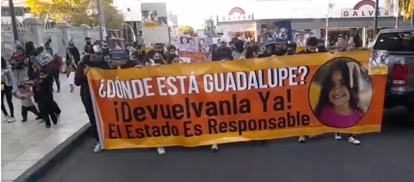 Cuatro meses sin rastros de Guadalupe