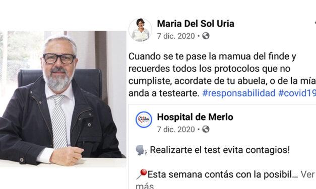 """Carlos Almena: """"La candidata a diputada representa fielmente al kirchnerismo en toda su expresión"""""""
