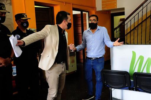 Repudian a Álvarez Pinto por un episodio en Cerro de Oro