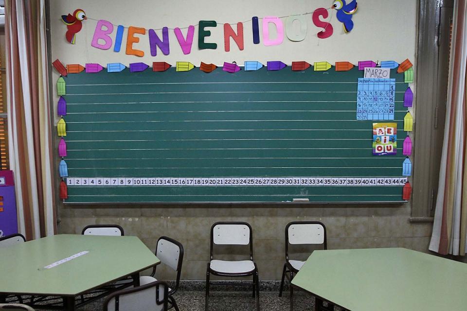 """Hoy volvía la """"presencialidad"""" a las escuelas, pero en San Luis no hay novedades"""