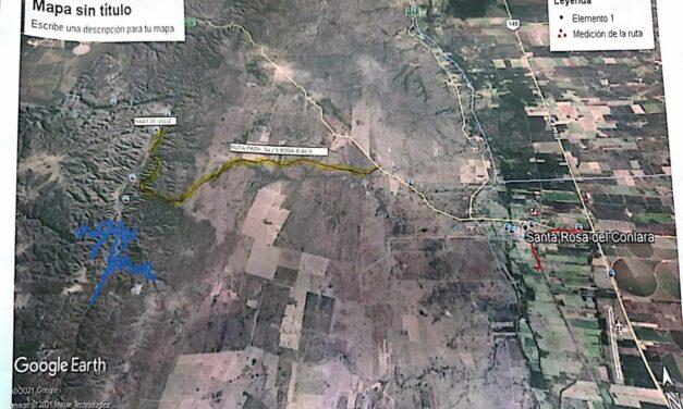 Avanza la creación de un dique en el Bajo de Veliz