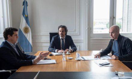Larreta se reunió con Cafiero y le llevó propuestas para flexibilizar la cuarentena