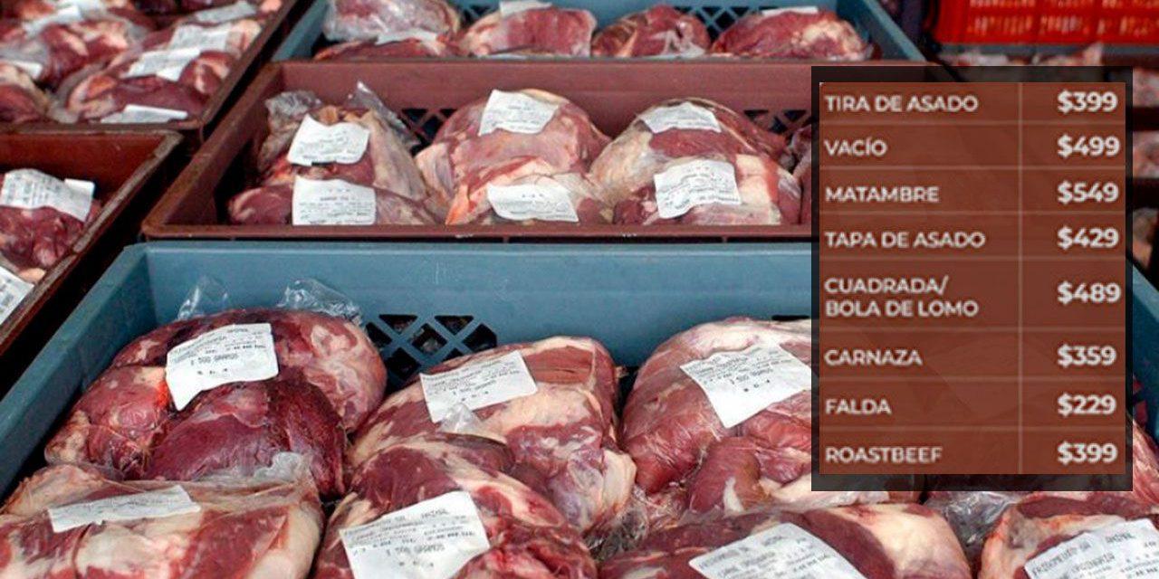 Ya rige el acuerdo de los 10 cortes de carne vacuna con precios rebajados