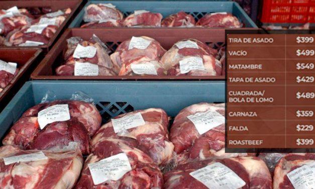 Rebajas de hasta 30% en cortes de carne vacuna