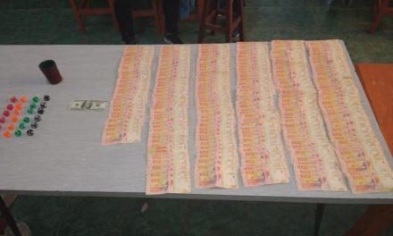 Concarán: allanaron una casa de juegos clandestinos y secuestró más de un millón y medio de pesos