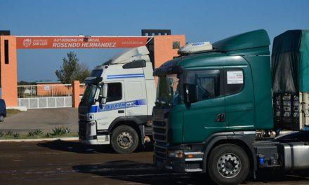 Un camionero dio positivo para COVID-19, esta internado en el Hospital