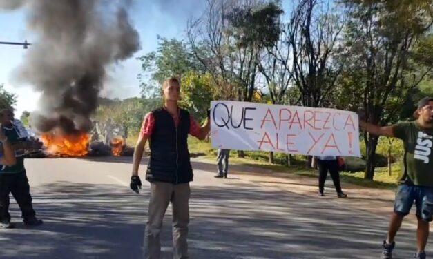 Volvieron a cortar la Ruta para pedir por la aparición de Alejando Ochoa