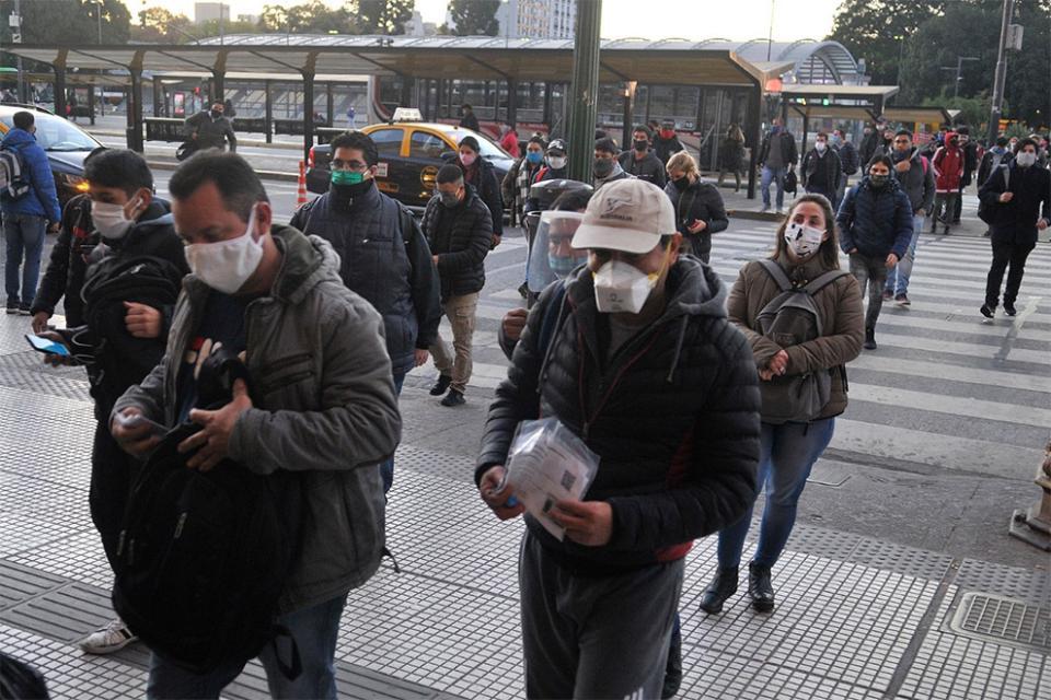 Coronavirus: sigue aumentando el número de contagios en la Ciudad