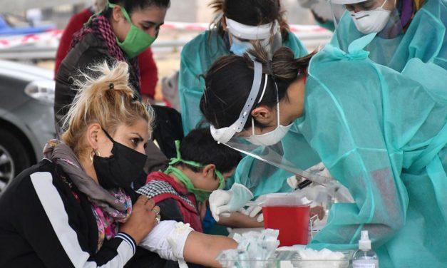 San Luis superó los 1000 casos positivos en menos de un mes
