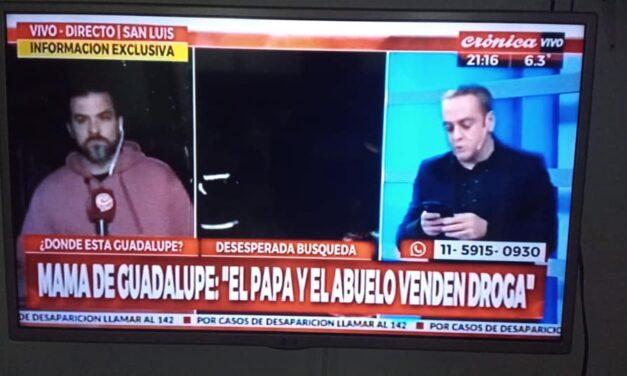 Pasaron cuatro días de la desaparición de Guadalupe y no hay novedades