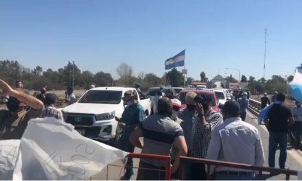 Ahora Mendoza: Protestas y demoras en el arco de Desaguadero por el ingreso a San Luis