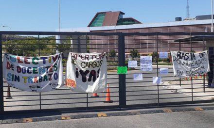 Jornada de protestas contra el gobierno provincial