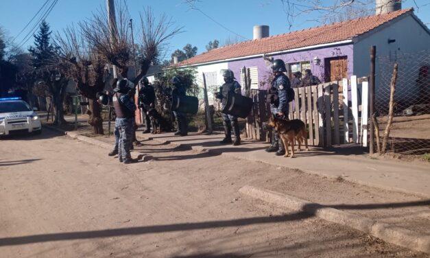 Juana Koslay: Encontraron plantas de marihuana y secuestran motos sin papeles