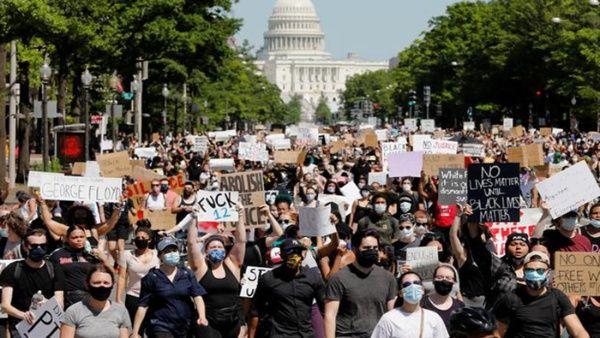 Continúan por séptimo día las protestas contra el racismo en EE.UU.