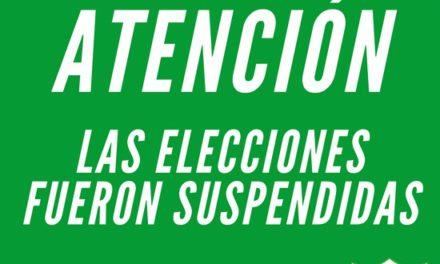 """Estudiantes suspendió las elecciones por una """"saturación"""" del sistema"""