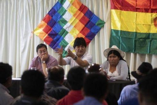 Evo Morales asegura que Gobierno de facto teme al voto popular