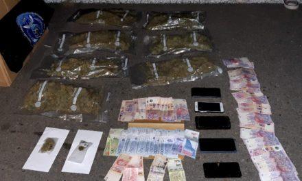 San Francisco: secuestraron un cargamento de marihuana valuado en casi 2 millones de pesos