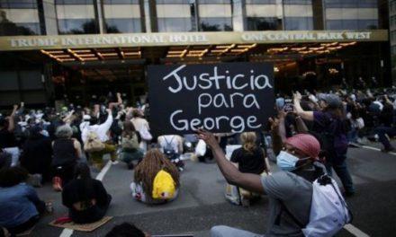 Continúan protestas en Nueva York por asesinato de George Floyd