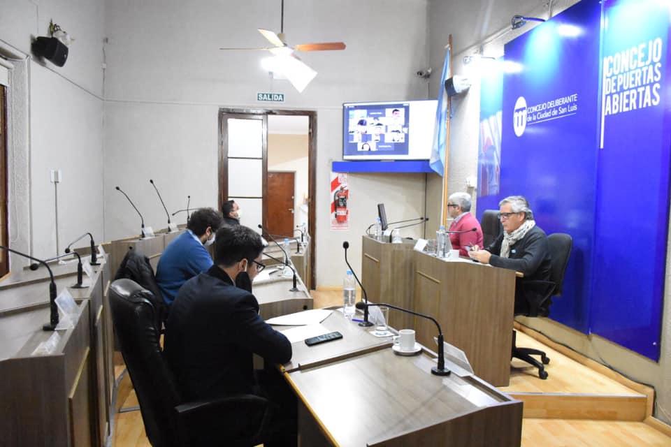 Se desarrolló otra sesión mixta en el Concejo Deliberante