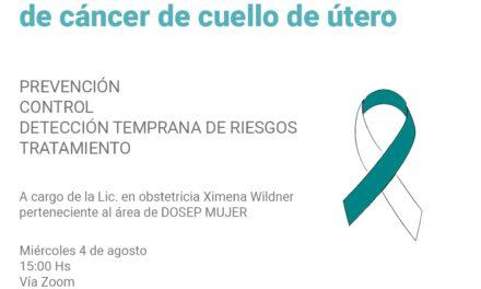 El HCD realizará una charla sobre prevención de cáncer de útero