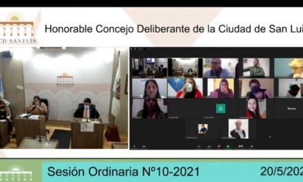 El HCD de San Luis podrá sesionar de forma virtual sin pandemia