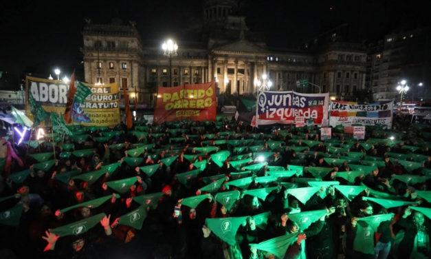 Aborto: La Campaña exigió la sanción de la ley IVE